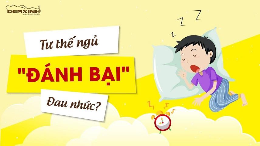 Tư thế ngủ đối phó với đau nhức vô cùng hiệu quả