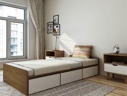 Tư vấn chọn đệm cao su 1m cho phòng ngủ diện tích nhỏ