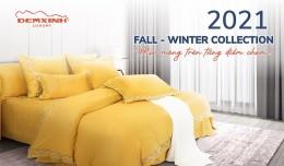 Ra mắt BST chăn ga Thu Đông: 2021 Fall - Winter Collection - Mịn màng trên từng điểm chạm!