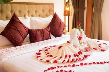 Cách trang trí phòng cưới cho đêm tân hôn hoàn hảo