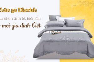 Chăn ga gối Dlavish - mang đến sang trọng đẳng cấp cho phòng ngủ