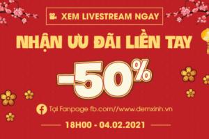 Siêu hội LiveStream Flash sale 4.2